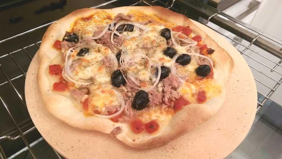 Pizza wie beim Italiener (oder beim Türken)